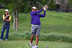 McKinney, TX - APRIL 25: Southland Conference men's golf conference championship at Stonebridge Country Club Dye course in McKinney on April 25, 2018 in McKinney, Texas. (Photo by Rick Yeatts)