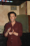 Guiding Light & As The World Turns Tom Pelphrey sings Karaoke at the Celebrity Bartending Bash on May 14 at Martini's Upstairs, Marco Island, Florida - SWFL Soapfest Charity Weekend May 14 & !5, 2011 benefitting several children's charities including the Eimerman Center providing educational & outfeach services for children for autism. see www.autismspeaks.org. (Photo by Sue Coflin/Max Photos)