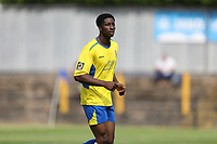 David Longe-King of St Albans during St Albans City vs Stevenage, Friendly Match Football at Clarence Park on 13th July 2019