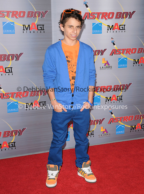 Moises Arias at The Summit Entertainment & Imagi Studios L.A. Premiere of Astro Boy held at The Grauman's Chinese Theatre in Hollywood, California on October 19,2009                                                                   Copyright 2009 Debbie VanStory / RockinExposures