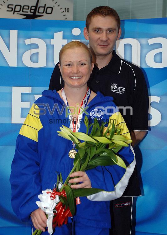 Picture by Chris Whiteoak/SWPIX.COM, Diving......ASA National Senior Diving Championships, 26/05/06..Copyright>>Simon Wilkinson>>07811267706..Winner of the womens 1m springboard Tandi Gerrard