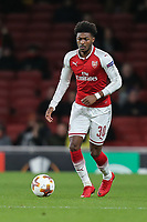 Ainsley Maitland-Niles of Arsenal during the UEFA Europa League match between Arsenal and FC BATE Borisov  at the Emirates Stadium, London, England on 7 December 2017. Photo by David Horn.