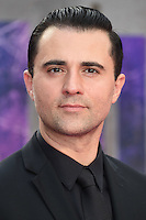 "Darius Campbell<br /> arrives for the ""Suicide Squad"" premiere at the Odeon Leicester Square, London.<br /> <br /> <br /> ©Ash Knotek  D3142  03/08/2016"