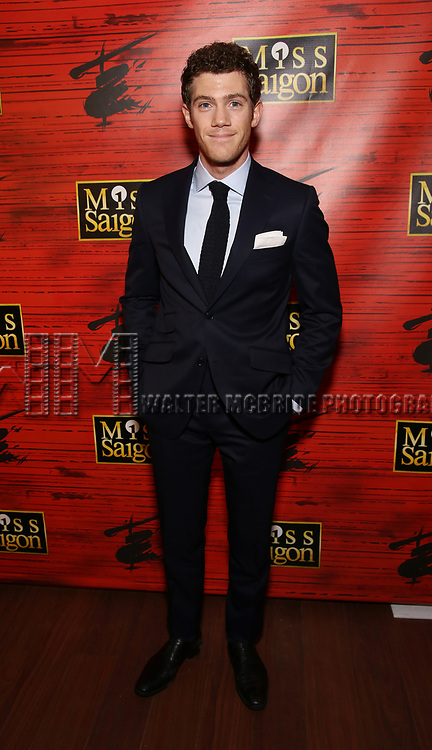 """Alistair Brammer attends The Opening Night After Party for the New Broadway Production of """"Miss Saigon"""" at Tavern on the Green on March 23, 2017 in New York City"""
