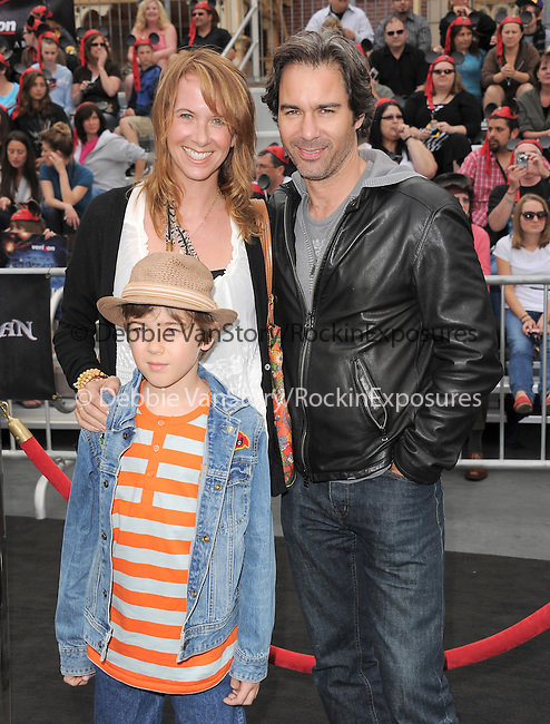 Eric McCormack and family at Walt Disney Pictures Premiere of Pirates of the Caribbean : On Stranger Tides held at Disneyland in Anaheim, California on May 07,2011                                                                               © 2010 Hollywood Press Agency