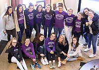 Guerin Catholic students worked at Magnolia Springs Bridgewater, an assisted living community in Carmel.