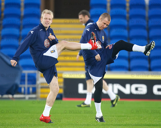 Steven Naismith and Kenny Miller