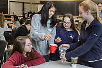 Duke FEMMES STEM mentoring at Duke University in Durham, North Carolina, Saturday, February 9, 2019  (Justin Cook)