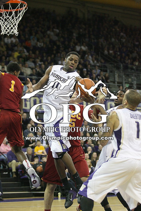 Mar 05, 2011:  Washington's #11 Matthew Bryan-Amaning pulls in a rebound against USC.  USC defeated Washington 62-60 at Alaska Airlines Arena Seattle, Washington...