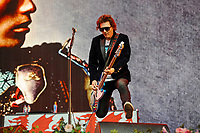 LONDON, ENGLAND - SEPTEMBER 9: Nicky Wire of 'Manic Street Preachers' performing at BBC Radio 2 Live in Hyde Park, on September 9, 2018 in London, England.<br /> CAP/MAR<br /> &copy;MAR/Capital Pictures