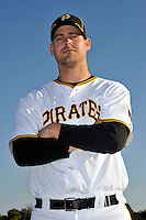 Feb 28, 2010; Bradenton, FL, USA; Pittsburgh Pirates  pitcher Steven Jackson (58) during  photoday at Pirate City. Mandatory Credit: Tomasso De Rosa/ Four Seam Images