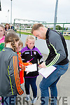 Kerry star Darren O'Sullivan signing Autographs at the Kerry GAA Night of Champions at the Kingdom Greyhound Stadium on Friday