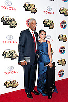LAS VEGAS, NV - November 8: Julius Erving and wife Dorys pictured at Soul Train Awards 2012 at Planet Hollywood Resort on November 8, 2012 in Las Vegas, Nevada. © RD/ Kabik/ Retna Digital /NortePhoto