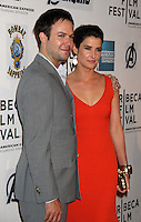 April 28, 2012 Taren Killam, Cobie Smulders attends the Closing  Night of the 2012 Tribeca Film Festival with Marvel' the Avengers at BMCC Tribeca Pac in New York City..Credit:RWMediapunchinc.com