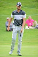 Thomas Pieters (BEL) after sinking his putt on 6 during round 2 of the World Golf Championships, Mexico, Club De Golf Chapultepec, Mexico City, Mexico. 3/3/2017.<br /> Picture: Golffile | Ken Murray<br /> <br /> <br /> All photo usage must carry mandatory copyright credit (&copy; Golffile | Ken Murray)