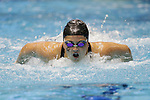 INDIANAPOLIS, IN - MARCH 18: Katie McLaughlin of the  University of California swims in the 200-yard butterfly during the Division I Women's Swimming & Diving Championships held at the Indiana University Natatorium on March 18, 2017 in Indianapolis, Indiana. (Photo by A.J. Mast/NCAA Photos via Getty Images)