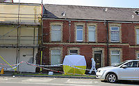2016 09 14 Police scene where Alison Farr-Davies was murdered, Swansea, UK