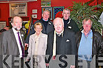 Listowel Community College Celebrations: Attending the Listowel Community College celebrations of colleges County Kerry Vocational Schools Senior Championship Winning teams at the College on Friday nigh last were Dick Carmody (1964), Marie Kelly representing the late Mike Kelly (1964) & Bert Griffin (1957 & Michael Nagle (1964). Back : Billy Galvin (1964) & Denis O'Connor (1964).