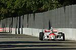 31 August 2007: Sam Hornish, Jr. (USA) at the Detroit Belle Isle Grand Prix, Detroit, Michigan.