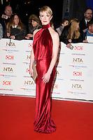 Shauna MacDonald<br /> arriving for the National TV Awards 2019 at the O2 Arena, London<br /> <br /> ©Ash Knotek  D3473  22/01/2019