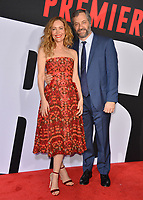 Leslie Mann &amp; Judd Apatow at the premiere for &quot;Blockers&quot; at the Regency Village Theatre, Los Angeles, USA 03 April 2018<br /> Picture: Paul Smith/Featureflash/SilverHub 0208 004 5359 sales@silverhubmedia.com