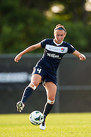 Sky Blue FC defender Caitlin Foord (4). Sky Blue FC and the Portland Thorns played to a 0-0 tie during a National Women's Soccer League (NWSL) match at Yurcak Field in Piscataway, NJ, on June 22, 2013.