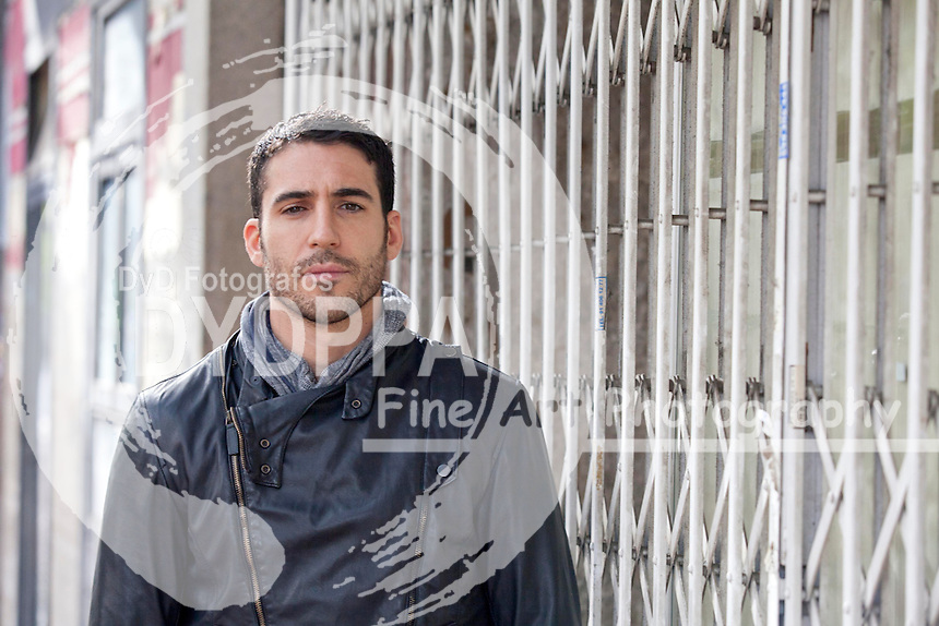 "07/11/2012. Madrid, Spain. ""Todo es Silencio"" film. Actor miguel angel Silvestre. Photo: Nacho Lopez/ DyD Fotografos"
