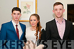 North Kerry Harriers Social : Attending the North Kerry Harrier's social at the Listowel Arms Hotel on Friday night last were Nelu O'Doherty, Aoife Foley & Edward Hanrahan.