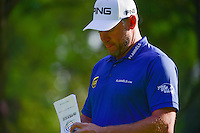 Lee Westwood (ENG) approaches the 9th tee box during round 1 of the World Golf Championships, Mexico, Club De Golf Chapultepec, Mexico City, Mexico. 3/2/2017.<br />