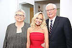 Kristin Chenoweth with her parents  Junie Chenoweth and Jerry Chenoweth attend backstage during the Opening Night of Kristin Chenoweth - 'My Love Letter To Broadway'  at the Lunt-Fontanne Theatre on November 2, 2016 in New York City.