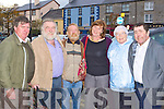 Donal Breen, Bill Griffin, Walter Dalton, Deirdre, Mary O'Donoghue and James O'Sullivan Knocknagoshel enjoying the music at the Padraig O'Keeffe festival in Castleisland on Monday