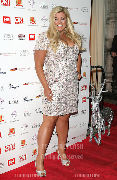 Gemma Collins arriving for the OK Magazine Christmas Party, Sway, London.  27/11/2012 Picture by: Alexandra Glen / Featureflash