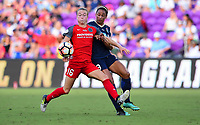 Orlando, FL - Saturday October 14, 2017:  during the NWSL Championship match between the North Carolina Courage and the Portland Thorns FC at Orlando City Stadium.