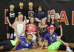 WATERTOWN, CT, 31 August, 2017 - 083117LW01 - A group of Watertown High School students pose for a photo op after taking a tour of the school Thursday.<br /> Laraine Weschler Republican-American