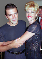 Antonio Banderas Melanie Griffith 1997<br /> Photo By Adam Scull/PHOTOlink.net