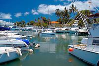 Lahaina Harbor, Maui Hawaii