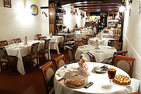 Interno del ristorante La Greppia a Parma.<br /> Interior of the restaurant La Greppia, in Parma.<br /> UPDATE IMAGES PRESS/Riccardo De Luca
