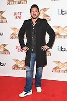 Jeremy Edwards<br /> at the photocall of X Factor Celebrity, London<br /> <br /> ©Ash Knotek  D3524 09/10/2019