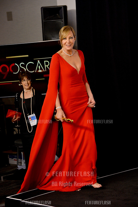 Allison Janney at the 90th Academy Awards Awards at the Dolby Theartre, Hollywood, USA 04 March 2018<br /> Picture: Paul Smith/Featureflash/SilverHub 0208 004 5359 sales@silverhubmedia.com