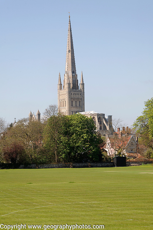 Norwich cathedral England