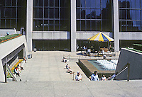 Chicago: First National Bank Building Plaza, 1969. Madison between Dearborn & Clark. Photo '78.