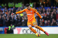 Fulham goalkeeper, Sergio Rico during Chelsea vs Fulham, Premier League Football at Stamford Bridge on 2nd December 2018