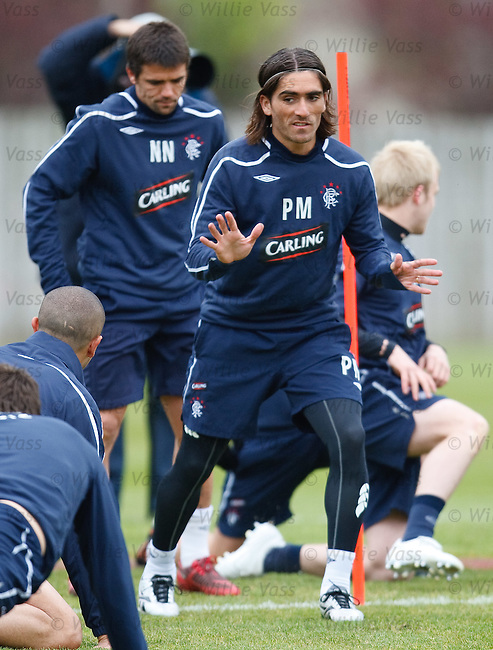 Pedro Mendes at training