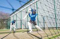 Picture by Allan McKenzie/SWpix.com - 05/04/2018 - Cricket - Yorkshire County Cricket Club Training - Headingley Cricket Ground, Leeds, England - Gary Ballance nets.