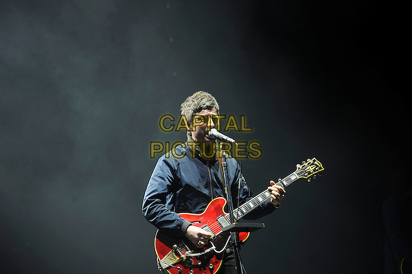 LONDON, ENGLAND - MARCH 10: Noel Gallagher of 'Noel Gallagher's High Flying Birds' performing at o2 Arena on March 10, 2015 in London, England.<br /> CAP/MAR<br /> &copy; Martin Harris/Capital Pictures
