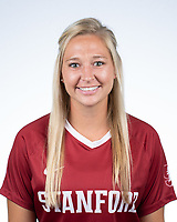 Stanford, Ca - Monday, August 12, 2019: Stanford Women's Soccer Portraits 2019.