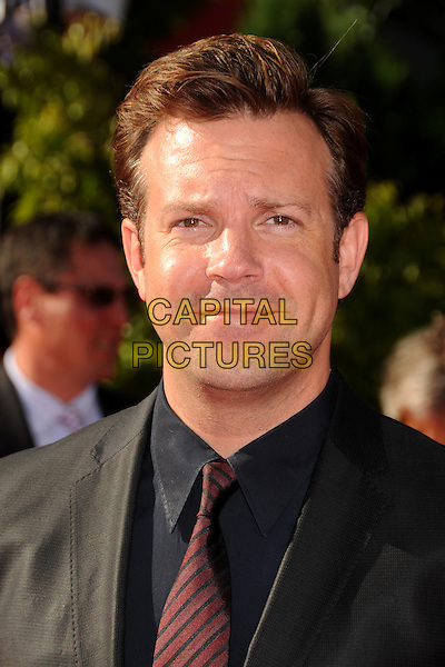 JASON SUDEIKIS.18th Annual ESPY Awards - Arrivals held at Nokia Theatre L.A. Live, Los Angeles, California, USA..July 14th, 2010.espys headshot portrait black.CAP/ADM/BP.©Byron Purvis/AdMedia/Capital Pictures.