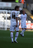 Pictured: Andrea Orlandi of Swansea City <br /> Coca Cola Championship, Swansea City FC v Burnley at the Liberty Stadium, Swansea. Saturday 20 September 2008.