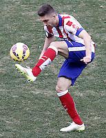 Atletico de Madrid's Guilherme Siqueira during La Liga match.February 7,2015. (ALTERPHOTOS/Acero) /NORTEphoto.com