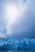 The Grey Glacier in Torres del Paine National Park in southern Chile.